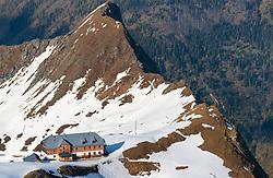 THEMENBILD, Die Krefelder Hütte des deutschen Alpenvereins, aufgenommen am 18.05.2017, Kitzsteinhorn, Kaprun, Österreich // The Krefeld hut of the German Alpine Association at the Kitzsteinhorn Glacier in Kaprun, Austria on 2017/05/18. EXPA Pictures © 2017, PhotoCredit: EXPA/ JFK