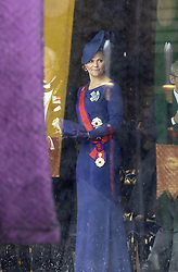 October 22, 2019, JAPAN: 22-10-2019 Inhuldiging Enthronement ceremony of Emperor Naruhito of Japan in Tokyo..Princess Victoria at the Imperial Palace to attend the proclamation ceremony of Japans Emperor in Tokyo, Japan. (Credit Image: © face to face via ZUMA Press)