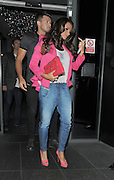 04.SEPTEMBER.2012. LONDON<br /> <br /> KATIE PRICE AND LEANDRO PENNA ATTENDS THE JEANS FOR GENES LAUNCH PARTY AT THE W HOTEL, LEICESTER SQUARE.<br /> <br /> BYLINE: EDBIMAGEARCHIVE.CO.UK<br /> <br /> *THIS IMAGE IS STRICTLY FOR UK NEWSPAPERS AND MAGAZINES ONLY*<br /> *FOR WORLD WIDE SALES AND WEB USE PLEASE CONTACT EDBIMAGEARCHIVE - 0208 954 5968*