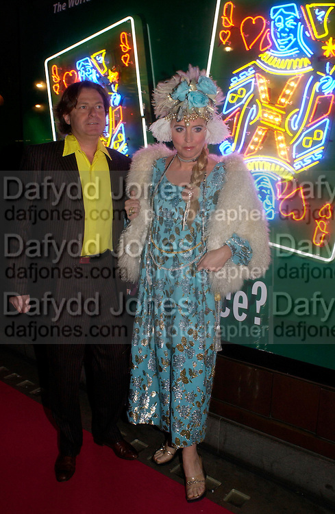 Danny Moynihan and Katrine Boorman. Selfridges Las Vegas dinner hosted by  hon Galen , Hillary Weston and Allanah Weston. Selfridges Oxford St. 20 April 2005. ONE TIME USE ONLY - DO NOT ARCHIVE  © Copyright Photograph by Dafydd Jones 66 Stockwell Park Rd. London SW9 0DA Tel 020 7733 0108 www.dafjones.com
