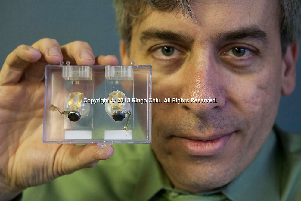 Dr. Robert Greenberg, CEO of Second Sight Medical Products  Inc.. Second Sight is an Al Mann company that received FDA approval for its first device, the Argus II, which acts as a ?bionic eye? for blind people affected by retinitis pigmentosa. (Photo by Ringo Chiu/PHOTOFORMULA.com)