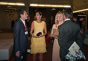 THOMAS WOODHAM-SMITH; ESTEFANIA RENAUD; LADY HELEN TAYLOR , Masterpiece Midsummer Party in aid of CLIC Sargent. Masterpiece London. The Royal Hospital, Royal Hospital Road, London, SW3. 3 July 2012.