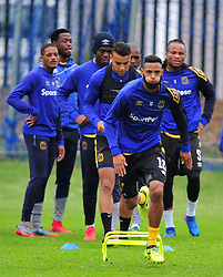 Cape Town--180329 Cape Town City defender Taariq Fielies at training preparing for heir Nedbank Cup game against Sundowns on sunday  .Photographer;Phando Jikelo/African News Agency/ANA