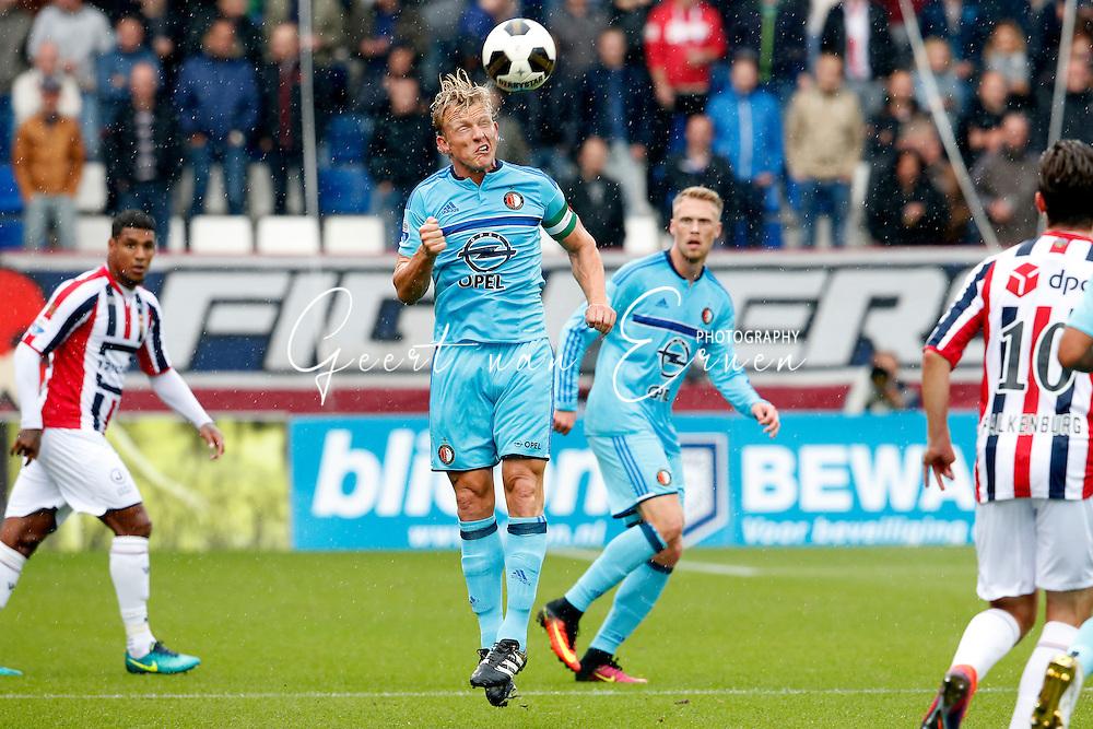 02-10-2016 VOETBAL:WILLEM II - FEYENOORD:TILBURG<br /> Dirk Kuyt van Feyenoord <br /> <br /> <br /> Foto: Geert van Erven