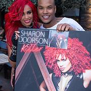 NLD/Hilversum/20130610 - Presentatie 1e album Sharon Doorson met partner Brunno Moneiro Tavares