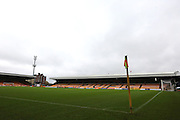 Vale Park before the The FA Cup match between Port Vale and Maidenhead United at Vale Park, Burslem, England on 8 November 2015. Photo by Jemma Phillips.
