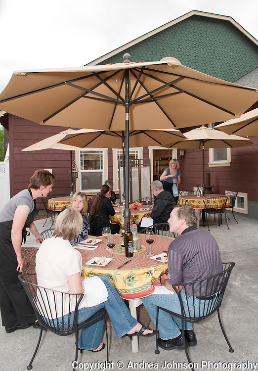 Innkeepers Chef Charles Maddrey and Alexa Palmer offer Gourmet Dinners at the Fat Duck Inn, Walla Walla, Washington