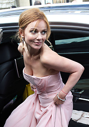 Geri Halliwell  leaving  Poppy Delevigne's wedding at St.Paul's Church in Knightsbridge, London , Friday, 16th May 2014. Picture by Stephen Lock / i-Images