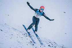 15.02.2020, Kulm, Bad Mitterndorf, AUT, FIS Ski Flug Weltcup, Kulm, Herren, im Bild Stephan Leyhe (GER) // Stephan Leyhe of Germany during his Jump for the men's FIS Ski Flying World Cup at the Kulm in Bad Mitterndorf, Austria on 2020/02/15. EXPA Pictures © 2020, PhotoCredit: EXPA/ Dominik Angerer