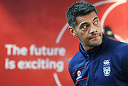 Warriors coach Stephen Kearney.<br /> Vodafone New Zealand announce the renewing of sponsorship for the Vodafone Warriors at InnoV8 Auckland Vodafone HQ, North Shore, Auckland. Thursday 24 May 2018. © Copyright Image: Andrew Cornaga / www.photosport.nz