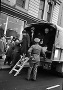 Army Lorries Help out during Bus Strike..09.04.1963