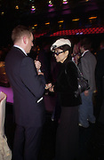 Yoko Ono. The Daily Mirror's Pride of Britain Awards, South Bank. London.   October 10 2005. ONE TIME USE ONLY - DO NOT ARCHIVE © Copyright Photograph by Dafydd Jones 66 Stockwell Park Rd. London SW9 0DA Tel 020 7733 0108 www.dafjones.com
