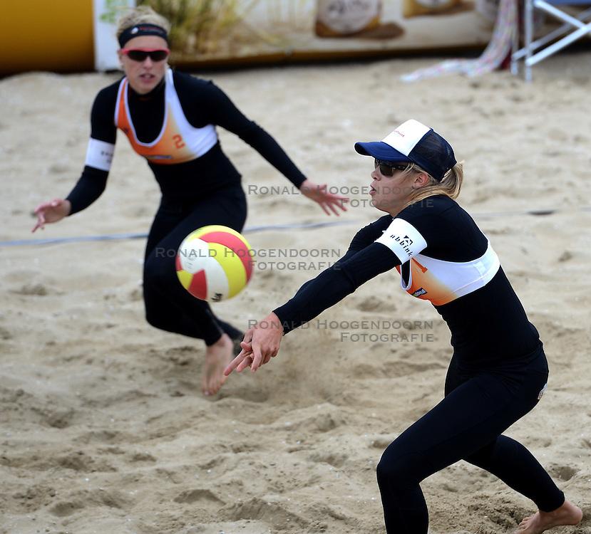16-08-2014 NED: NK Beachvolleybal 2014, Scheveningen<br /> Laura Bloem