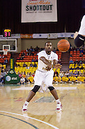 November 27th, 2010:  Anchorage, Alaska - Sun Devil senior guard Ty Abbott (3) passes the ball in Arizona State's 58-67 loss to St. John's in the championship game of the Great Alaska Shootout.