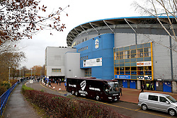 A general view of The John Smith's Stadium - Mandatory by-line: Matt McNulty/JMP - 10/12/2016 - FOOTBALL - The John Smith's Stadium - Huddersfield, England - Huddersfield Town v Bristol City - Sky Bet Championship