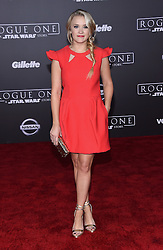 Celebrities arrive at the 'Rogue One: A Star Wars Story' movie premiere in Hollywood, California. 10 Dec 2016 Pictured: Emily Osment. Photo credit: American Foto Features / MEGA TheMegaAgency.com +1 888 505 6342