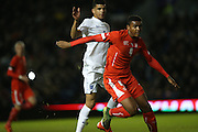 Manuel Akanji, Swiss U21 International during the UEFA European Championship Under 21 2017 Qualifier match between England and Switzerland at the American Express Community Stadium, Brighton and Hove, England on 16 November 2015.