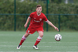 NEWPORT, WALES - Wednesday, August 3, 2016: Kian Owen during the Welsh Football Trust Cymru Cup 2016 at Newport Stadium. (Pic by Ian Cook/Propaganda)