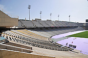Palau Sant Jordi Olympic Stadium at Montjuic Barcelona Catalunya Spain