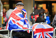 Spectators during the Manchester Olympic Parade in Manchester, United Kingdom on 17 October 2016. Photo by Richard Holmes.