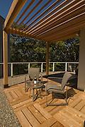 Outdoor roof deck