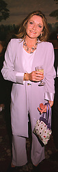 LEONORA, COUNTESS OF LICHFIELD at a dinner in London on 29th September 1998.MKJ 29 WO