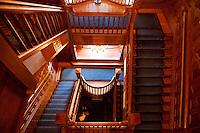 Craigdorroch Castle Staircase, Victoria, BC