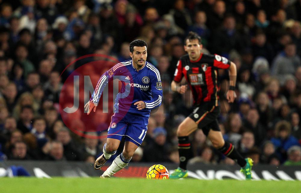 Pedro of Chelsea - Mandatory byline: Robbie Stephenson/JMP - 05/12/2015 - Football - Stamford Bridge - London, England - Chelsea v AFC Bournemouth - Barclays Premier League