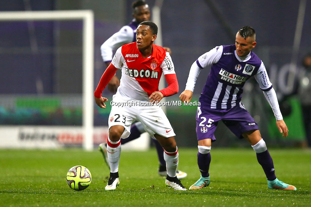 Anthony Martial - 05.12.2014 - Toulouse / Monaco - 17e journee Ligue 1<br />