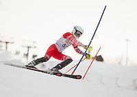 Cliff Nyquist memorial slalom with Gunstock Ski Club.<br /> ©2017 Karen Bobotas Photographer