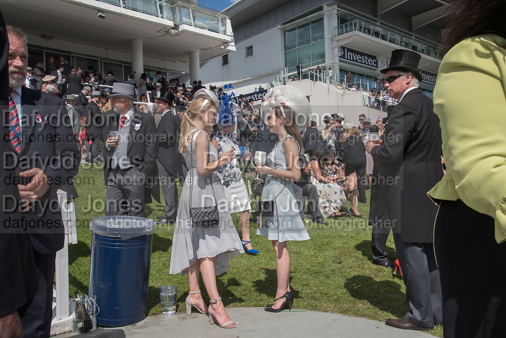 LUCY ROSSITER, LARA CONWAY-WATES; , Investec Derby, Epsom. June 2 2018