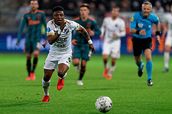 Issah Abass #21 of FC Utrecht in action during the semi final KNVB Cup between FC Utrecht and Ajax Amsterdam at Stadion Nieuw Galgenwaard on March 04, 2020 in Amsterdam, Netherlands