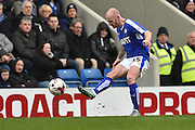 Drew Talbot (25) of Chesterfield FC  during the Sky Bet League 1 match between Chesterfield and Fleetwood Town at the b2net stadium, Chesterfield, England on 26 March 2016. Photo by Ian Lyall.