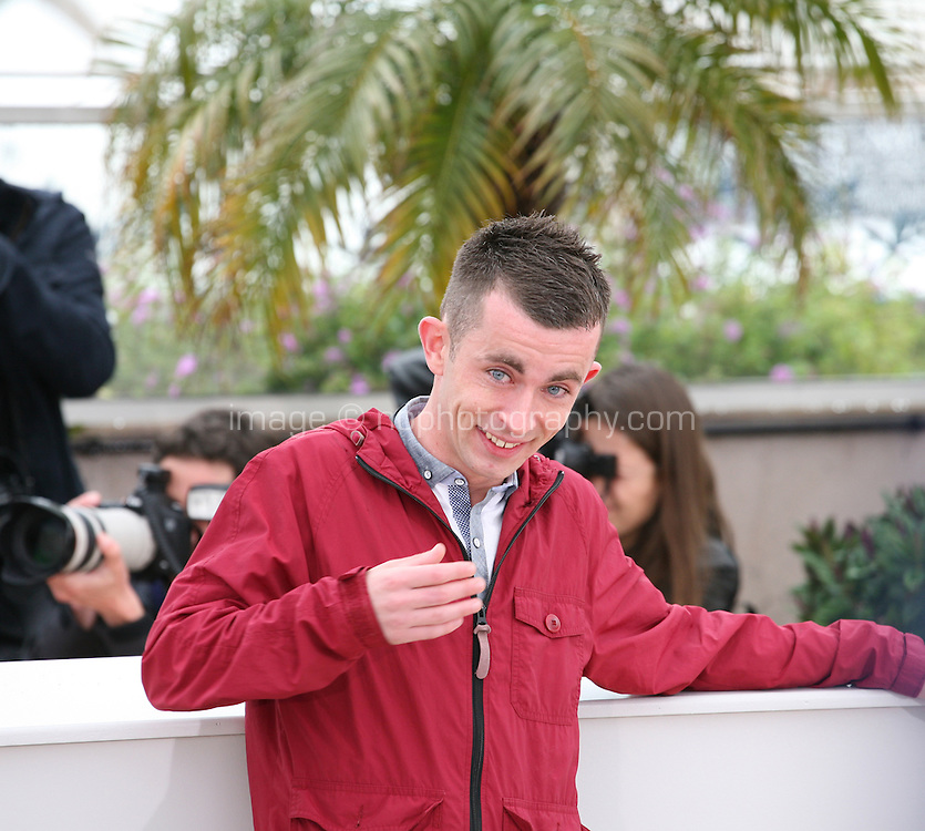 at  The Angel?s Share photocall at the 65th Cannes Film Festival France. The Angel's Share is directed by Ken Loach. Tuesday 22nd May 2012 in Cannes Film Festival, France.