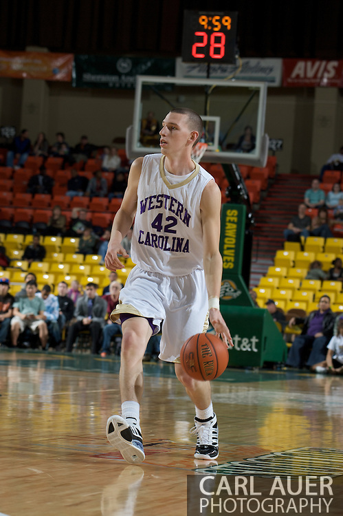 November 27, 2008: Western Carolina's Jake Robinson (42) in the final game in the opening round of the 2008 Great Alaska Shootout at the Sullivan Arena