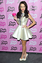 Former X Factor star Cher Lloyd launches her debut fragrance 'Pink Diamond' at the Circus Club in London, Monday, 3rd September 2012.  Photo by: Chris Joseph / i-Images