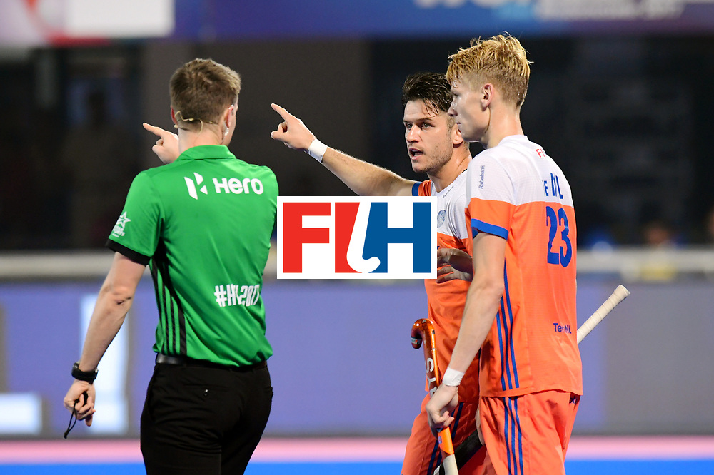 Odisha Men's Hockey World League Final Bhubaneswar 2017<br /> Match id:16<br /> Germany v Netherlands<br /> Foto: Robbert Kemperman (Ned) and Joep de Mol (Ned) <br /> COPYRIGHT WORLDSPORTPICS FRANK UIJLENBROEK