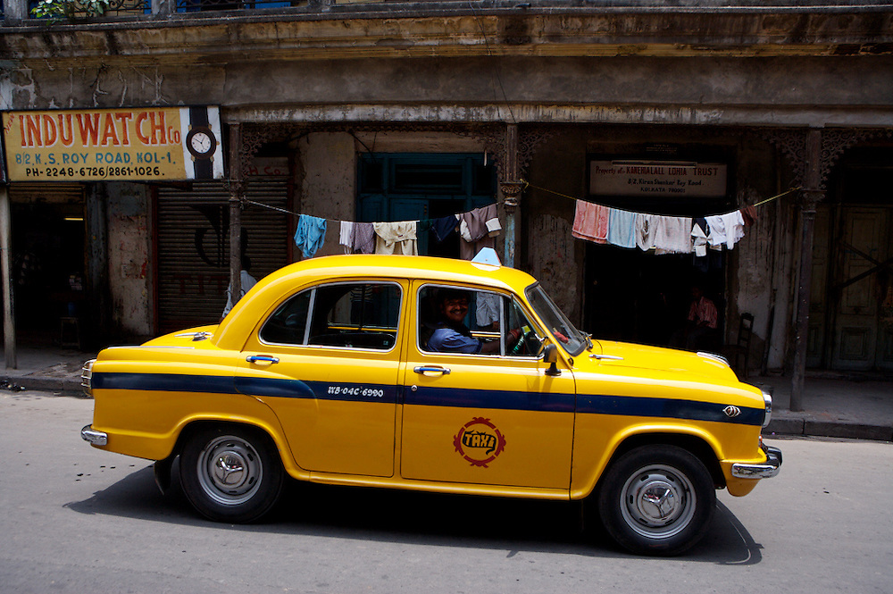 India-Kolkata cab