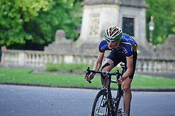 Action from the Bath Cycles Races in Victoria Park, 30th May 2012. Photo by Simon Parker/SPactionimages