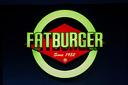 Fatburger sign in Palm Drive, Makati, 1224 Metro Manila, The Philippines. (photo by Andrew Aitchison / In pictures via Getty Images)