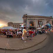 Memorial Day weekend concert with the Kansas City Symphony at Union Station, Kansas City, Missouri.
