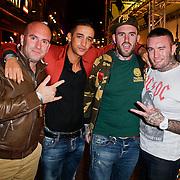 NLD/Amsterdam/20111107- Lancering Call of Duty MW3, broers Dean Suanders, Yes-R, Ben Saunders en Jamie Saunders