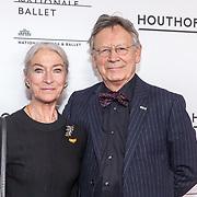 NLD/Amsterdam/20190316  - Premiere balletvoorstelling Het Zwanenmeer, Han Ebbelaar & Alexandra Radius