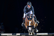 HONG KONG - FEBRUARY 19:  Philippe Rozier of France rides Quel Chanu during The Hong Kong Jockey Club Trophy as part of the 2016 Longines Masters of Hong Kong on February 19, 2016 in Hong Kong, Hong Kong.  (Photo by Aitor Alcalde Colomer/Getty Images)