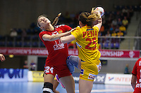 Frederikshavn, Danmark:<br /> IHF VM H&aring;ndbold for kvinder Danmark 2015 <br /> Spanien - Rusland<br /> <br /> Fotograf: Morten Olsen<br /> <br /> Frederikshavn, Denmark:<br /> IHF Women&acute;s Handball World Championship Denmark 2015<br /> Spain - Russia<br /> <br /> Photographer: Morten Olsen