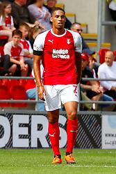 Zak Vyner of Rotherham United - Mandatory by-line: Ryan Crockett/JMP - 11/08/2018 - FOOTBALL - Aesseal New York Stadium - Rotherham, England - Rotherham United v Ipswich Town - Sky Bet Championship