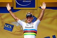 CYCLING - TOUR DE FRANCE 2011 - STAGE 3 - Olonne-sur-Mer > Redon (198 km) - 04/07/2011 - PHOTO : JULIEN CROSNIER / DPPI -  THOR HUSHOVD (NOR) / TEAM GARMIN - CERVELO