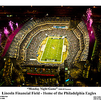 Aerial view of the Link, Monday Night Game.<br />