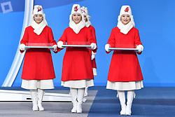 Les Coulisses, Behind the scenes, Podium at the PyeongChang2018 Winter Paralympic Games, Korea