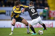 Onderwerp/Subject: NAC Breda - RKC Waalwijk - Eredivisie<br /> Reklame:  <br /> Club/Team/Country: <br /> Seizoen/Season: 2012/2013<br /> FOTO/PHOTO: Eric BOTTEGHIN ( Eric Fernando BOTTEGHIN ) (BEHIND) of NAC Breda in duel with Teddy CHEVALIER (FRONT) of RKC Waalwijk. (Photo by PICS UNITED)<br /> <br /> Trefwoorden/Keywords: <br /> #04 $94 ±1342772543138 ±1342772543138<br /> Photo- & Copyrights © PICS UNITED <br /> P.O. Box 7164 - 5605 BE  EINDHOVEN (THE NETHERLANDS) <br /> Phone +31 (0)40 296 28 00 <br /> Fax +31 (0) 40 248 47 43 <br /> http://www.pics-united.com <br /> e-mail : sales@pics-united.com (If you would like to raise any issues regarding any aspects of products / service of PICS UNITED) or <br /> e-mail : sales@pics-united.com   <br /> <br /> ATTENTIE: <br /> Publicatie ook bij aanbieding door derden is slechts toegestaan na verkregen toestemming van Pics United. <br /> VOLLEDIGE NAAMSVERMELDING IS VERPLICHT! (© PICS UNITED/Naam Fotograaf, zie veld 4 van de bestandsinfo 'credits') <br /> ATTENTION:  <br /> © Pics United. Reproduction/publication of this photo by any parties is only permitted after authorisation is sought and obtained from  PICS UNITED- THE NETHERLANDS
